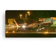 Air Rescue touchdown Canvas Print