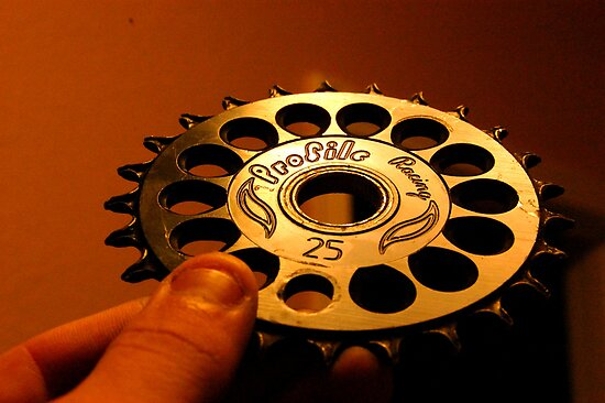 Profile Imperial bmx sprocket by Justin Emery