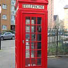 London Telephone Box by Corrie Wharton