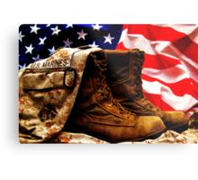 USMC Metal Print