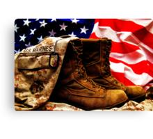 USMC Canvas Print