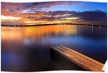 Swan River Jetty - Western Australia  by EOS20