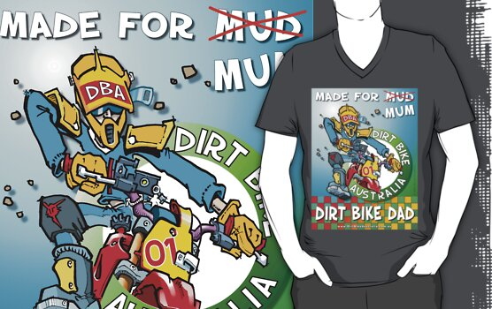 Dirt Bike Dad  T-Shirt #2 by Wizard