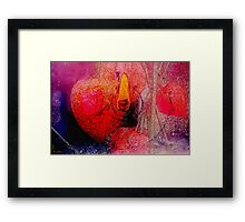 Heart Burning Framed Print