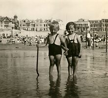 From the family album: Cousin Willy and I, beside the seaside.... by MrJoop