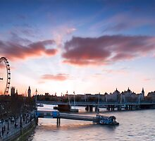 London Sunset by hackysack