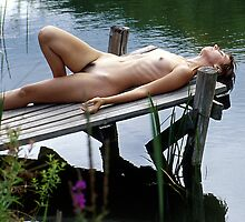 Reclining Nude, Woodstock, NY by fauselr
