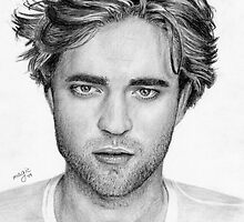 Robert Pattinson by llvllagic