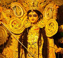 Devi Durga Kolkata India by ConnorB