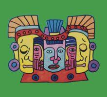 Aztec Gods Tee by Alexandra Felgate