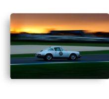 Driving Dusk Canvas Print