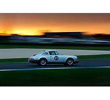 Driving Dusk Photographic Print