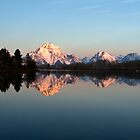 Teton sunrise by Rase Littlefield
