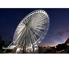 Eye of Brisbane Photographic Print