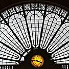 Gare de l'Est facade by Victor Pugatschew
