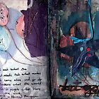 Art Journal - let go by Clare Reid
