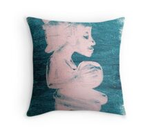 Pop Art Fetish Figure Throw Pillow