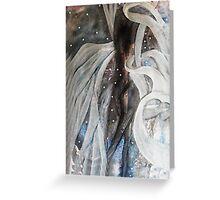 Mystical Figure Greeting Card