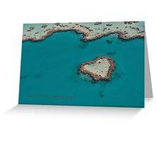 Heart Reef © Vicki Ferrari Greeting Card