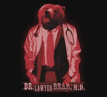 Doctor Lawyer Bear, M.D. by LazerBears