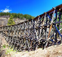 Mexican Canyon Trestle by JBoyer