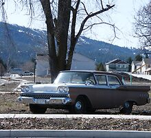 This is a 1959 Ford Fairlane #1 by DonnaMoore