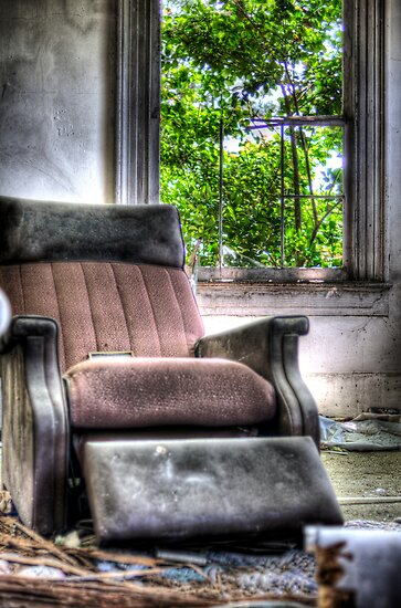 Grandpa's Recliner by Joel Hall