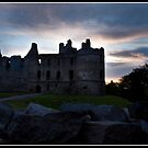Balvenie castle at sunset by Shaun Whiteman