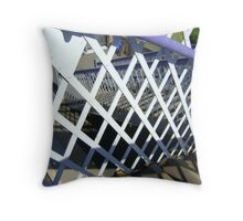 perspective pattern play Throw Pillow