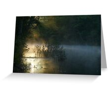 DAWN AT CLARKS CREEK Greeting Card
