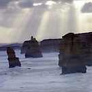Great Ocean Road Apostles by Kane Horwill