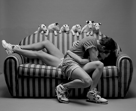 Puppy Love by Werner Langer