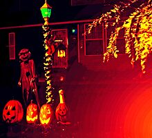 Halloween Yard 4 by SteveOhlsen