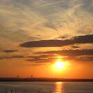 Sunset in NY by Jacker