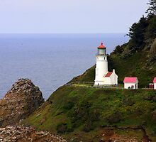 Heceta Head Lighthouse, Oregon by aussiedi