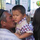 Grandpa's Kiss by KZBlog