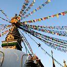 Stupa Flight by Rene Edde