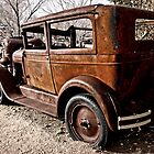 Antique Car by Donna Rondeau