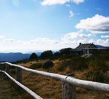 Craig's Hut Fence Line by Sam Boden