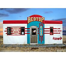 Red Top Diner on Route 66, Edgewood, New Mexico Photographic Print