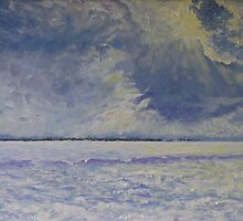 Storm Over Wolfe Island by Carol Seymour