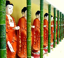 Buddhas... Kek Lok Si Temple by Tamara Travers