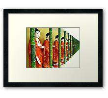 Buddhas... Kek Lok Si Temple Framed Print