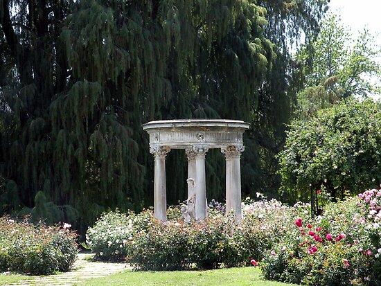 Roman Garden By Shaina Lunde Redbubble