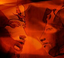 Egyptian series -Akhnaten haunts the sands of Egypt by Marilyns