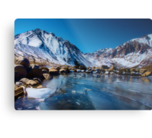 Convict Lake, Revisited Metal Print