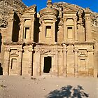 The Monastery-Petra by desertsea