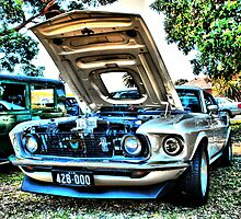 Mustang HDR by KeepsakesPhotography Michael Rowley