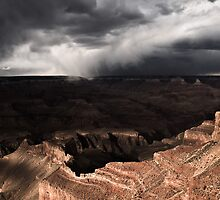 Storm over the North Rim by Michael Breitung