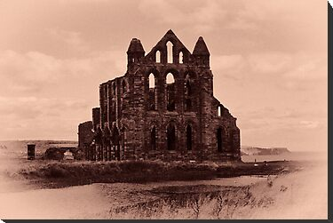 Whitby Abbey by Trevor Kersley
